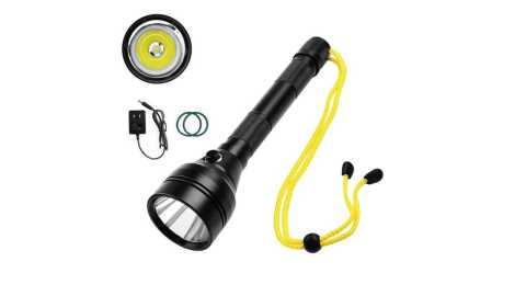 SEEKNITE SD07 - SEEKNITE SD07 100m LED Diving Flashlight Banggood Coupon Promo Code