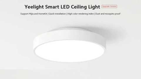 Yeelight YLXD76YL - Yeelight YLXD76YL 320mm Smart LED Ceiling Light Gearbest Coupon Promo Code [Upgrade]