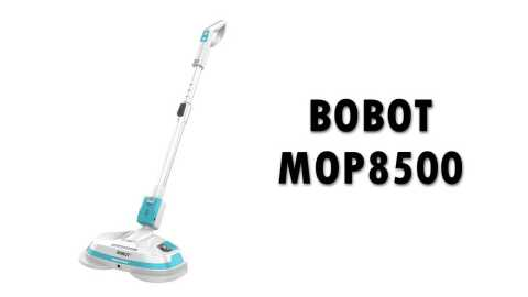 bobot 8500 - BOBOT MOP8500 Cordless Electric Mop Banggood Coupon Promo Code