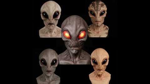 Alien Mask - Halloween Alien Mask Banggood Coupon Promo Code