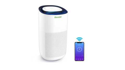 Amrobt Smart Wi Fi Air Purifier - Amrobt Smart Wi-Fi Air Purifier Amazon Coupon Promo Code