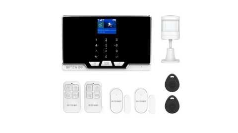 BlitzWolf BW IS6 - BlitzWolf BW-IS6 Wi-Fi+2G GSM Smart Security Alarm System Kit Banggood Coupon Promo Code