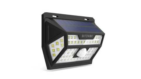 Blitzwolf BW OLT1 Solar Power - Blitzwolf BW-OLT1 Solar Motion Sensor Wall Light Banggood Coupon Promo Code