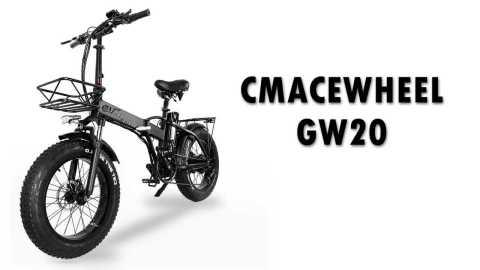 CMACEWHEEL GW20 - CMACEWHEEL GW20 Folding Electric Bike Banggood Coupon Promo Code [Czech Warehouse]