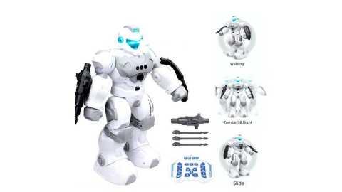 FENGTAI Smart Police RC Robot - FENGTAI Smart Police RC Robot Banggood Coupon Promo Code