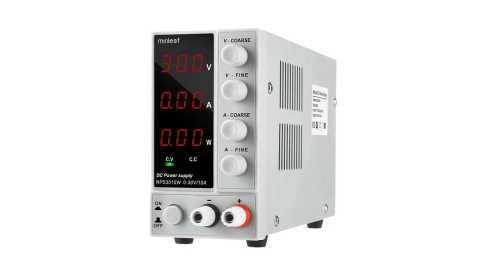Minleaf NPS3010W - Minleaf NPS3010W Adjustable DC Power Supply Banggood Coupon Promo Code