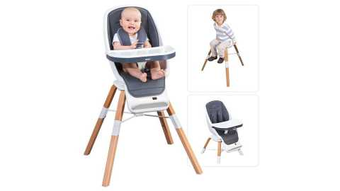 RONBEI High Chair - RONBEI 3-in-1 High Chair for Infants to Toddler Amazon Coupon Promo Code