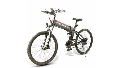 SAMEBIKE LO26 spoke tire - SAMEBIKE LO26 Spoke Tire Electric Bike Banggood Coupon Promo Code [500W] [Czech Warehouse]