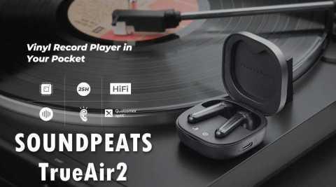 SOUNDPEATS TrueAir2 - SOUNDPEATS TrueAir2 bluetooth 5.2 Headphones Banggood Coupon Promo Code