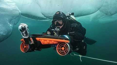 Sublue Seabow - Sublue Seabow Smart Underwater Scooter Drone with Action Camera Banggood Coupon Promo Code