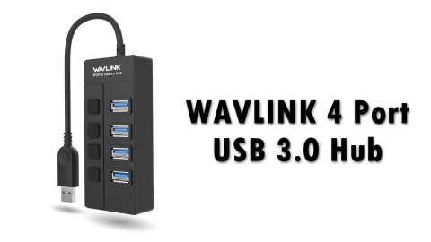 WAVLINK 4 Port USB 3 Hub - WAVLINK 4 Port USB 3.0 Hub Amazon Coupon Promo Code