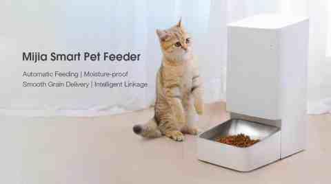 Xiaomi Mijia Smart Pet Feeder - Xiaomi Mijia Smart Pet Feeder Banggood Coupon Promo Code [Czech Warehouse]