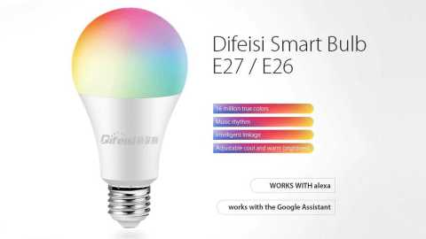 Difeisi smart bulb - Difeisi Smart Bulb Gearbest Coupon Promo Code