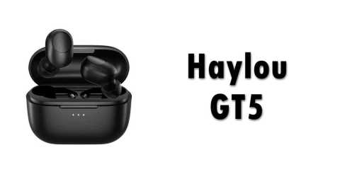 Haylou GT5 - Haylou GT5 TWS Bluetooth 5.0 Earbuds Gearbest Coupon Promo Code