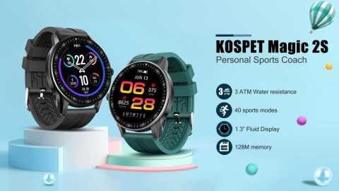Kospet Magic 2S - Kospet Magic 2S Smart Watch Banggood Coupon Promo Code