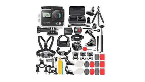 Neewer G2 - Neewer G2 HD 4K Touch-Screen Action Camera & 50-in-1 Accessory Kit Amazon Coupon Promo Code