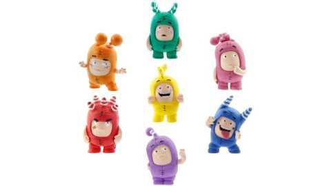 Oddbods Toy Set of Mini Figurines - Oddbods Mini Figurine Set Amazon Coupon Promo Code