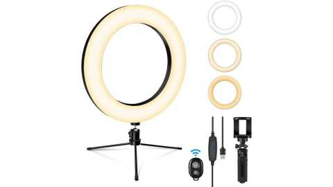 "SEBIDER 8 LED Selfie Ring Light - SEBIDER 8"" LED Selfie Ring Light with Tripod Amazon Coupon Promo Code"