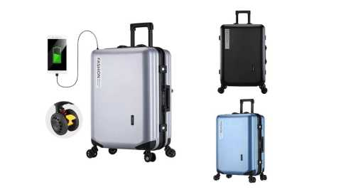 XMUND XD XL7 1 - XMUND XD-XL7 20inch Travel Trolley Suitcase Banggood Coupon Promo Code [Czech Warehouse]