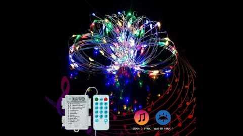 yozatia light strip - YOZATIA 50/100LEDs Christmas Decorative LED String Lights Banggood Coupon Promo Code