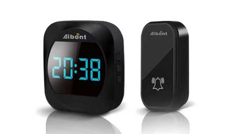 Aibont ML 195 - Aibont ML 195 Wireless Doorbell Banggood Coupon Promo Code [Czech Warehouse]