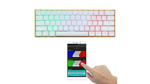Anne PRO app control - Anne PRO RGB Mechanical bluetooth Gaming Keyboard Banggood Coupon Code [APP Control]