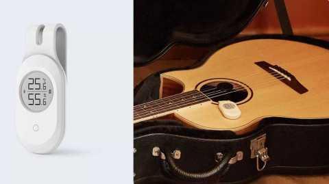 ClearGrass Smart Temperature Humidity Sensor - Xiaomi ClearGrass Guitar Temperature Humidity Sensor Banggood Coupon Promo Code