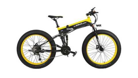 LANKELEISI XT750Plus - LANKELEISI XT750 Plus Folding Electric Bike Geekbuying Coupon Promo Code [Poland Warehouse]