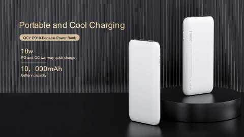 QCY PB10 - QCY PB10 10000mAh Power Bank Banggood Coupon Promo Code