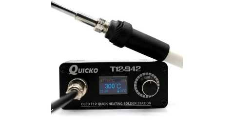 Quicko T12 942 - Quicko T12-942 OLED Digital Soldering Station Banggood Coupon Promo Code [Czech Warehouse]