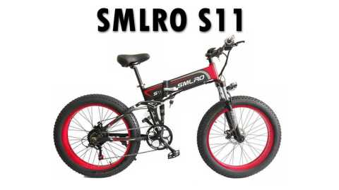 SMLRO S11 - SMLRO S11 Folding Mountain Electric Bike Banggood Coupon Promo Code