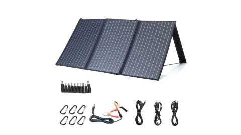 XMUND XD SP2 Solar Panel - XMUND XD-SP2 100W 18V Solar Panel Banggood Coupon Promo Code [Czech Warehouse]