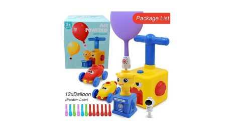 Inertia Balloon Powered Car Toys - Inertia Balloon Powered Car Toys Banggood Coupon Promo Code