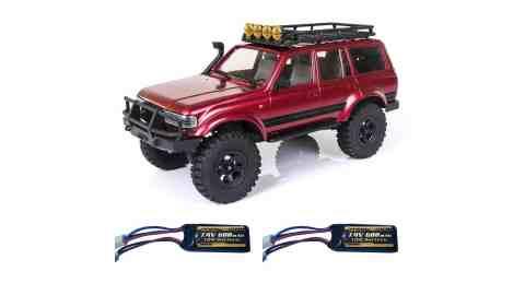 ROCHOBBY Katana - ROCHOBBY 1/18 Katana Crawler RC Car Banggood Coupon Promo Code [2 Batteries]