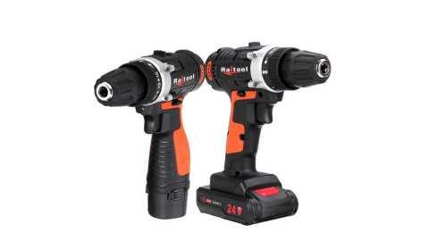 Raitool Cordless Power Drill - Raitool 2 Speed Cordless Power Drill Banggood Coupon Promo Code [Czech Warehouse]