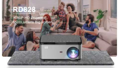 Rigal RD828 - Rigal RD828 1080P Full HD WIFI Projector Banggood Coupon Promo Code