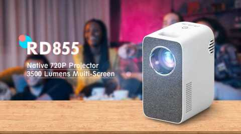 Rigal RD855 - Rigal RD855 Mini WIFI LED Projector Banggood Coupon Promo Code