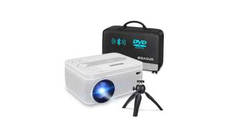 BIGASUO - BIGASUO Full HD Projector with DVD Player Amazon Coupon Promo Code