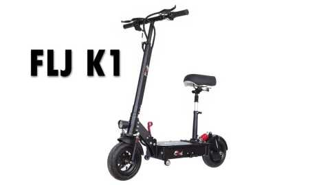 FLJ K1 - FLJ K1 Folding Electric Scooter Banggood Coupon Promo Code [35A] [Czech Warehouse]