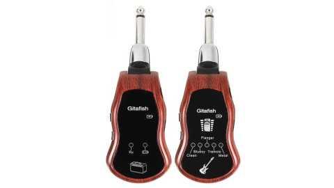 Gitafish K380C - Gitafish K380C Portable UHF Wireless Guitar Synthesize Effector Banggood Coupon Code