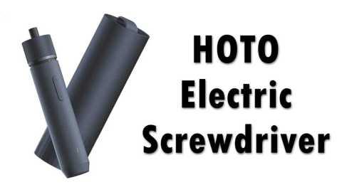 HOTO Electric Screwdriver - Xiaomi HOTO Electric Screwdriver Kit Geekbuying Coupon Code [Czech Warehouse]