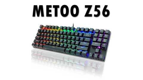 METOO Z56 - METOO Z56 Mechanical Keyboard Banggood Coupon Promo Code [89 Keys]