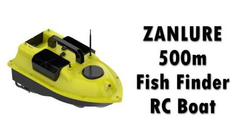 ZANLURE 500m Fish Finder - ZANLURE 500m Fish Finder Smart RC Boat Banggood Coupon Promo Code