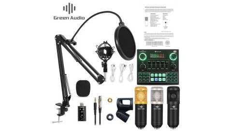 green audio GAM 800 - Green Audio GAM-800 Condenser Microphone Banggood Coupon Promo Code