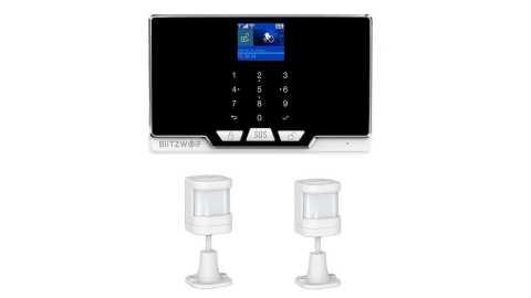 BlitzWolf BW IS6 - BlitzWolf BW-IS6 Smart Home Security Host + 2xPIR Body Sensor Banggood Coupon Code
