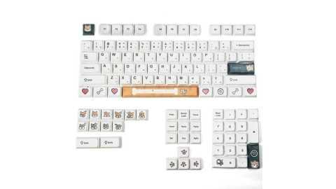 MechZone 116 Keys Shiba Inu Keycap Set - MechZone 116 Keys Shiba Inu Keycap Set Banggood Coupon Coupon Promo Code