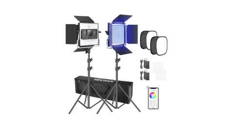 Neewer 2 Packs 660 - Neewer 2 Packs 660 RGB Led Light with APP Control Amazon Coupon Promo Code