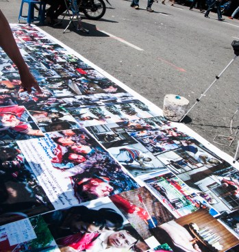 Images of the 2010 protests