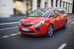 Opel Zafira jeszcze mocniejszy