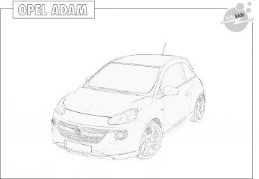 Ausmalbilder Opel Astra